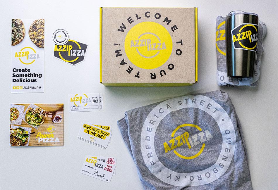 Azzip's Employee Welcome Kits