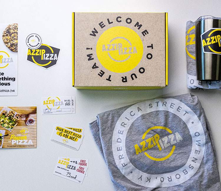 Azzip's Employee Welcome Kits
