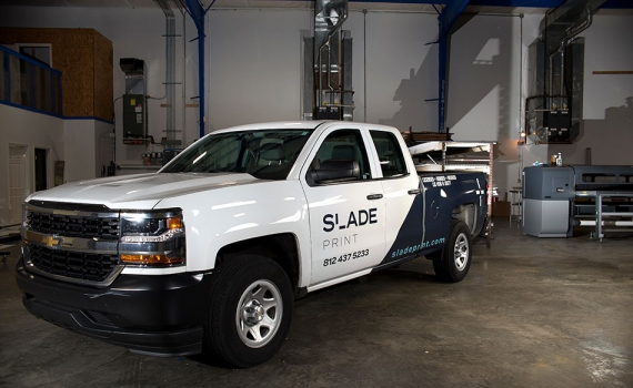 Slade Print Truck
