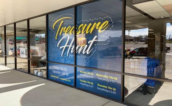 Treasure Hunt - Window Perf